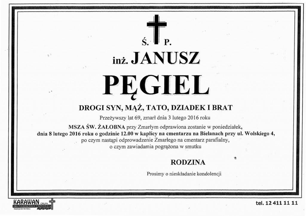 klepsydra Janusz Pęgiel